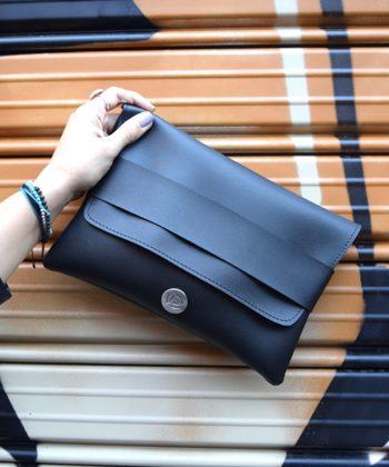 Τσάντα χειρός φάκελος – Μαύρο