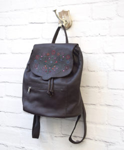 Romantic Brown Backpack Artonomous 2