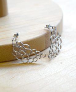 Silver Earrings A Handmade Artonomous 1