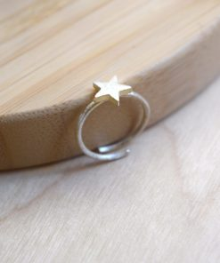 Silver Star Ring Tsaprali Artonomous