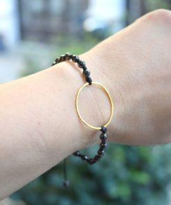 Bracelet Gold Plated Silver Kampouri Zoi Artonomous 5