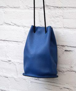 Leather Pouch Blue Artonomous 1