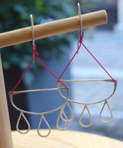 Silver Earrings Perraki Artonomous6
