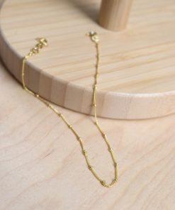 Beads Leg Chain Gold Plated Silver Artonomous