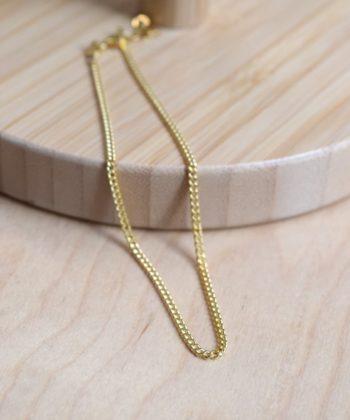 Click Leg Chain Gold Plated Silver Artonomous