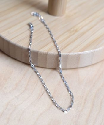 Cubes Leg Chain Silver Artonomous