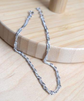 Double Leg Chain Silver Artonomous