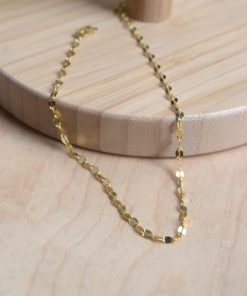 Oval Leg Chain Gold Plated Silver Artonomous