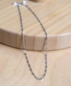 Shiny Leg Chain Silver Artonomous