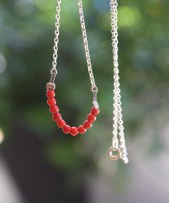 Silver Necklace Coral Artonomous2