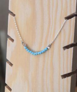 Silver Necklace Turquoiz Artonomous2