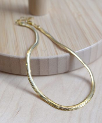 Snake Leg Chain Gold Plated Silver Artonomous