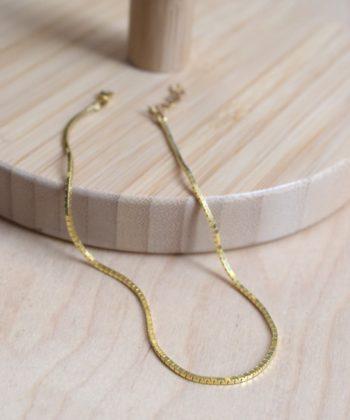 Square Leg Chain Gold Plated Silver Artonomous