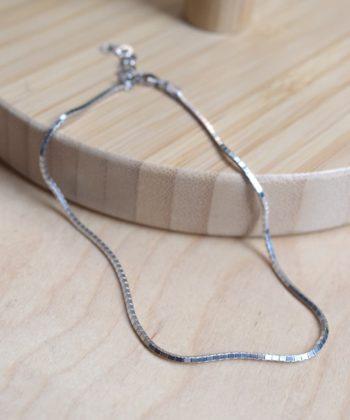 Square Leg Chain Silver Artonomous