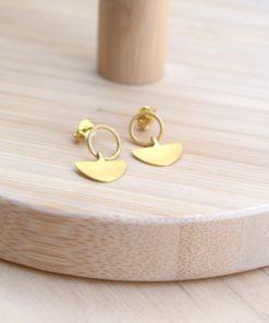 Gold Plated Silver Earings Koukos Artonomous