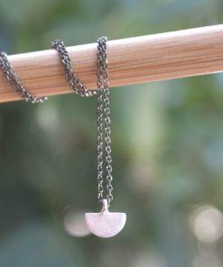 Silver Necklace Black Chain Koukos Artonomous2