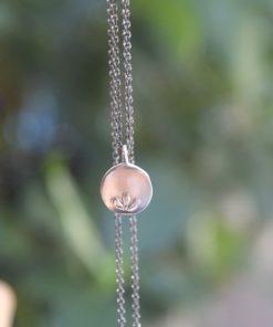 Silver Necklace Black Chain Koukos Artonomous5
