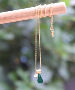 Silver Necklace Plexi Glass Chrysoglou Artonomous14
