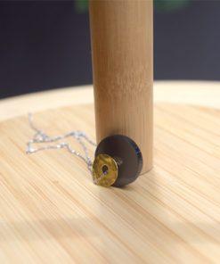 Silver Necklace Plexi Glass Chrysoglou Artonomous16