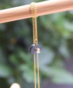 Silver Necklace Plexi Glass Chrysoglou Artonomous6