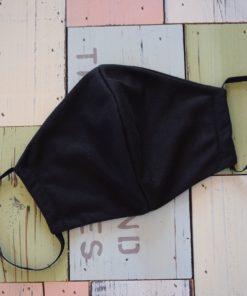 μάσκα προστασίας μαύρη οβαλ 1