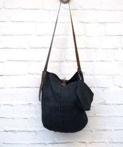 Fabric Leather Shouder Bag Artonomous
