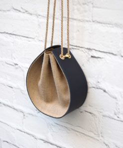 Leather Bag Burlap Artonomous01