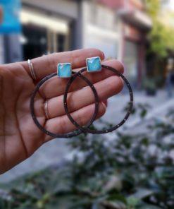 Silver Earrings Artonomous10