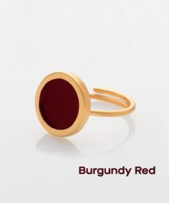 Burgundy Red Ring Prigipo Artonomous 2