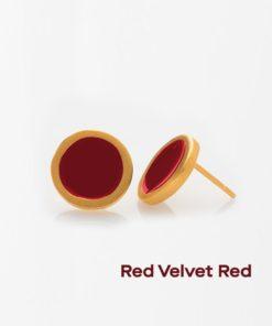 Enamel Earrings Red Prigipo Artonomous 2