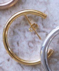Gold Hoop Earrings Artonomous 2