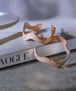 Hoop Earrings Rose Gold Artonomous