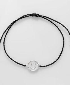 LuckyCharm2021 Happy Bracelet BLACK PT2