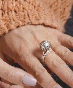 Sphare Silver Ring Artonomous 3