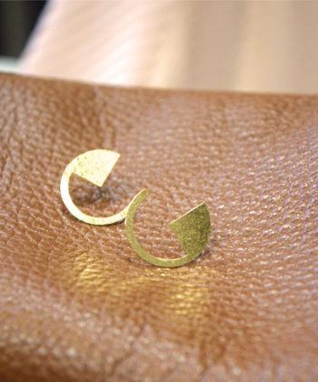 Earrings Stud Gold Plated Artonomous 2