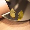 Gold Plated Earrings Artonomous 2