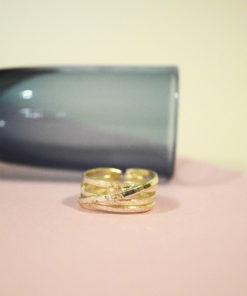 Δαχτυλίδι σφυρήλατο ασήμι