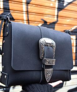 Black Leather Bag Artonomous 1