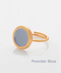 Powder Blue Small Ring Prigipo Artonomous 1