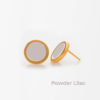 Powder Lilac Small Earring Prigipo Artonomous 1