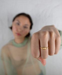 Prigipo Intimacy Collection Michelle Ring Gold Plated A Artonomous