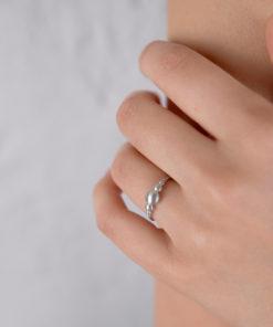 Πριγκιπώ δαχτυλίδι ασήμι
