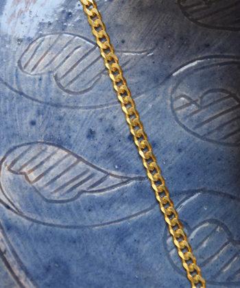 Βραχιόλι Ασήμι Επιχρυσωμένη Αλυσίδα - Click