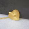 Κρεμαστό καρδιά ασήμι επιχρυσωμένο 1