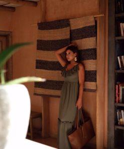 Maxi φόρεμα με βολάν 1 1
