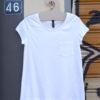 T Shirt λευκό με τσέπη 4