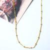 Αλυσίδα Ασήμι Επιχρυσωμένο - Beads