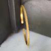 Βραχιόλι χειροπέδα επιχρυσωμένη - Tangled