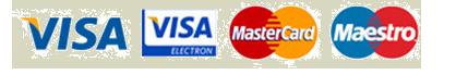 Visa Mastercard Maestro Icons